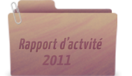 Rapport d'actvité 2011